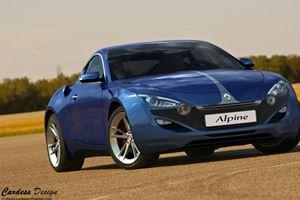 Renault Alpine Sports Coupe Design Study