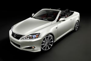 Special Edition 2011 Lexus IS 350C F Sport Comes in Limited Supply