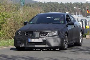Spied: Mercedes-Benz C63 AMG Coupe Black Series