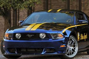 Up for Auction: Blue Angels Mustang GT