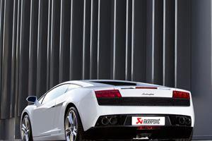 Lamborghini Gallardo Gets the Akrapovic Exhaust Treatment
