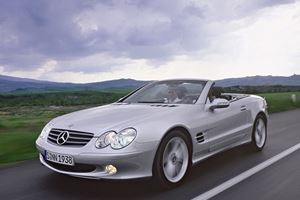 SL Evolution, Part 7: Mercedes SL Class Loaded with Electronic Wizardry