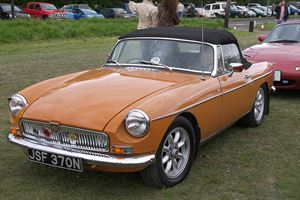 Iconic Roadsters: MG MGB