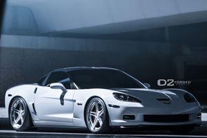 Corvette Z06 Wears D2Forged Wheels for SEMA