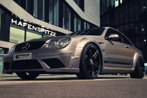 Mercedes CLK Black by Prior Design