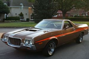 Unique of the Week: 1972 Ford Ranchero GT