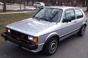 Unearthed: 1983 Volkswagen GTI