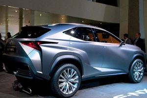 Lexus LF-NX Concept: is a Production Version Around the Corner?