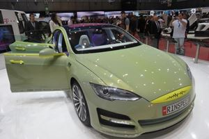 Rinspeed's Model S-Based XchangE is Only Slightly Nuts