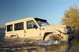 The Amphicruiser Will Get You There Even Through Water