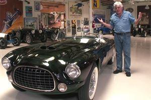 Jay Leno Drives Astounding 1952 Ferrari Barchetta