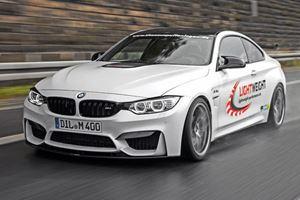 Lightweight BMW M4 Tuned to 520 HP