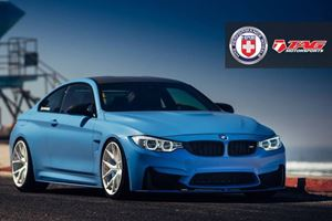 Yas Marina Blue BMW M4 Proves All You Need is a Sweet Paint Job and Tasty Alloys