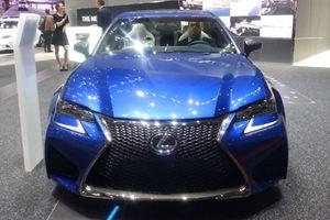 Lexus Debuts 2016 GS F To Europe Here In Geneva