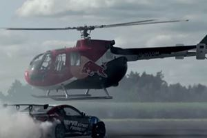 Who Wins This Drift Battle: A 1,000-HP GT86 Or An Aerobatic Helicopter?