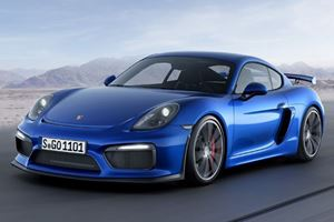 Porsche's Hardcore Track-Only Cayman Proves NA Engines Aren't Dead Yet