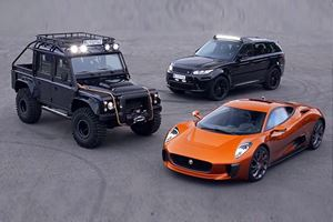 The Bad Guy Cars In The New Bond Movie More Are Absolutely Insane