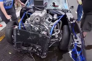 These 5 Videos Prove That Camaros And Corvettes Also Wipe Out At Cars & Coffee