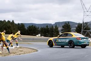 Why Are These Rugby Players Trying To Harm This BMW M2?