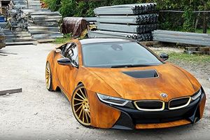 Did This 20-Year-Old Singer Ruin His BMW i8 By Wrapping It In Rust?