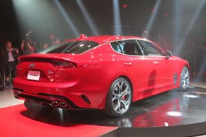 Hands Down, The Kia Stinger Was The Undisputed Star Of Detroit 2017