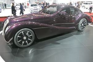 The Black Cuillin Is A 1930's Inspired Purple Hot Rod With V12 Power