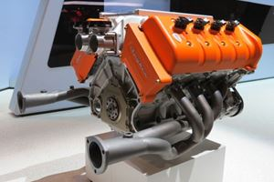 This Is The 600-HP V8 Koenigsegg Is Building Exclusively For Spyker
