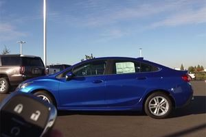 The 2017 Chevrolet Cruze Sedan Will Be The Best Rental You'll Ever Have