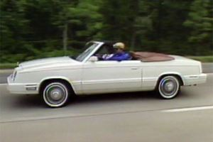 This 1982 Chrysler LeBaron Convertible Definitely Wasn't Owned By Jon Voigt