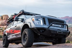 This Hardcore Off-Road Nissan Titan XD Is For Overlanding Enthusiasts