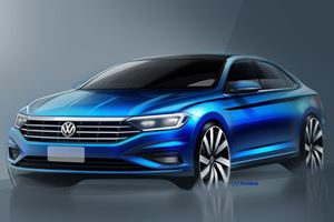Volkswagen Will Only Show Us These Sketches Of Its All-New Jetta