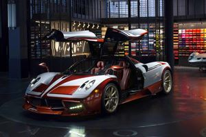 One-Off Pagani Huayra Lampo Revealed Inspired By 1950s Fiat
