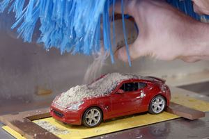 Nissan Uses A Mini Car Wash To Test Paint