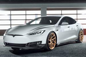 Tesla Model S Gets Unique Styling By Novitec