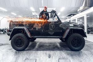 Jon Olsson Creates World's First Convertible Mercedes G500 4x4²