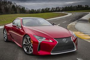 New Lexus LC Grand Tourer Gives Carmaker Confidence Again