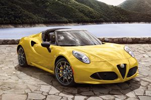 2018 Alfa Romeo 4C Spider Review