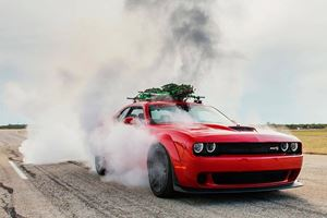Hennessey Creates World's Fastest Christmas Tree At 174 MPH