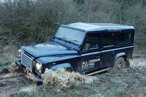 New Land Rover Defender Receiving All-Electric Option