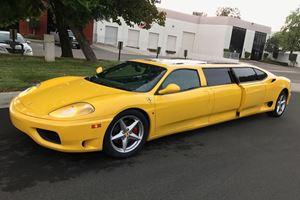 Someone Paid Over $100k For This Stretched Ferrari 360 Modena