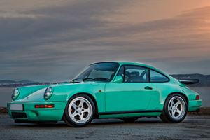 This Mint Green 1988 RUF CTR Clubsport Goes 212 MPH