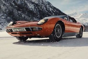 There's Nothing Like A Lamborghini Miura Blazing Through Snow