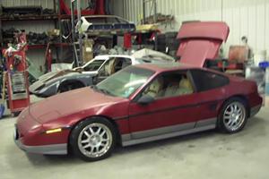 Pontiac Fiero Changed into Replica of Lambo Miura