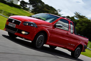 Fiat Strada Compact Pickup for Brazil