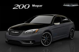 Detroit 2011: Fiat 500 and Chrysler 200 to Receive Mopar Treatment