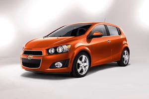 Detroit 2011: 2012 Chevrolet Sonic Sedan and Hatchback