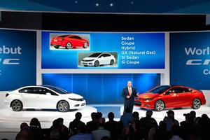Detroit 2011: Honda Civic Coupe and Sedan Concepts