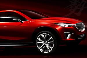 Mazda Minagi Concept Heading for Geneva