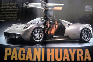 Pagani Huayra Pictures Leaked