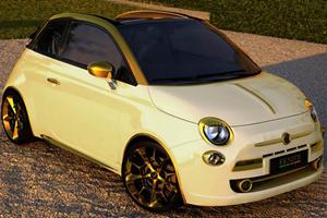 Half Million Euro Fiat 500 C Abarth Sold